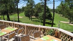 terrasse vue golf XS@ hotel du golf lacanau