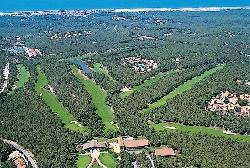 Vue aérienne XS @ hotel du golf lacanau